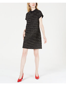 Collared Printed Shift Dress, Created For Macy's by Maison Jules