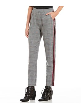 Glen Plaid Jogger Pants by Willow & Clay