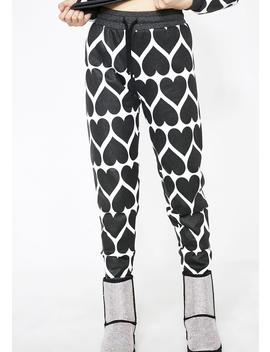 Dark Hearts Gwen Joggers by Wildfox Couture