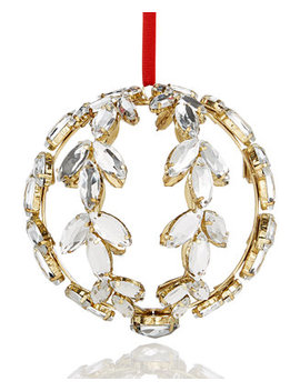 Crystal Wreath Ornament, Created For Macy's by Holiday Lane