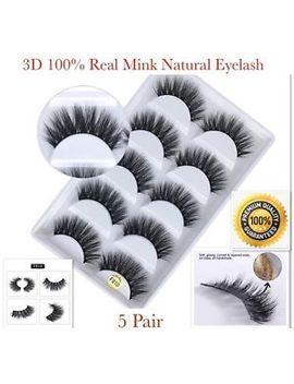 💙New 5 Pair 3 D Mink False Eyelashes Wispy Cross Long Thick Soft Fake Eye Lashes by Ebay Seller
