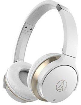 Audio Technica Ar3 Btwh Bluetooth Wireless On Ear Headphones–White by Amazon