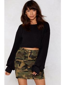 Speak Volumes Sweater by Nasty Gal