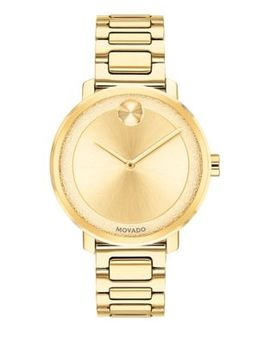 Womens Analog Bold Sugar Dial Watch by Movado Bold