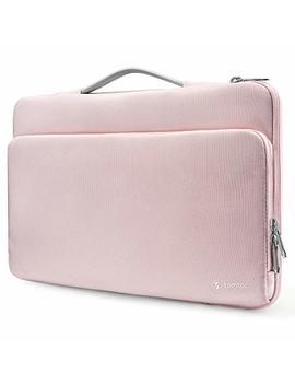 """Tomtoc 360° Protective Laptop Case Handle Sleeve Fit For Lenovo Think Pad 14   15"""" Mac Book Pro Touch Bar A1990 A1707   Acer Hp Chromebook 14"""" Notebook Tablet, Support Up To 13.75 X 9.48 In by Tomtoc"""