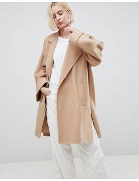Asos Design   Manteau Avec Coutures Apparentes by Asos Design
