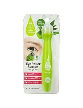 Baby Bright Eye Roller Serum With Aloe Vera & Fresh Collagen, Wrinkles, Dark Circles, Puffiness & Bags by Baby Bright