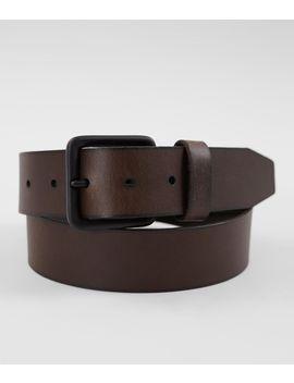 Buffalo Leather Belt by Buckle