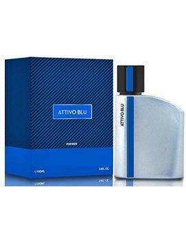 Attivo Blu Cologne For Men, 3.04 Ounce 90 Ml   Scent Similar To Luna Rosa by Preferred Fragrance