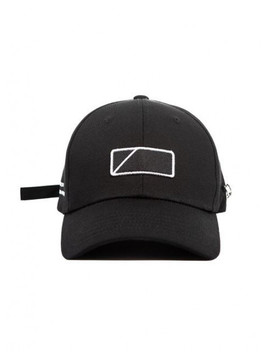 [Unisex] Noname Curve Cap Black by Mack Barry