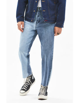 Barney Cools B. Relaxed Two Tone Cropped Straight Leg Jeans by Pacsun