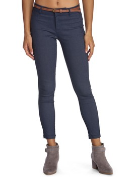 Keep It Chic Belted Twill Pants by Windsor