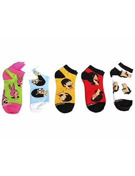 Ripple Junction Bob's Burgers 5 Pack Socks by Ripple Junction