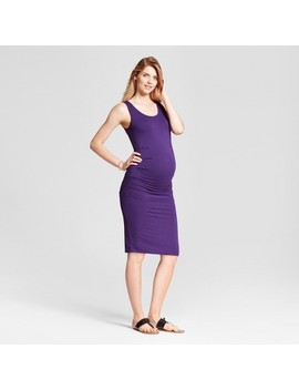 Maternity Pleated Tank Dress   Isabel Maternity By Ingrid & Isabel™ by Isabel Maternity By Ingrid & Isabel