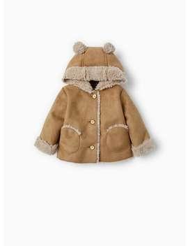 Double Sided Coat With Ears  Coatsmini by Zara