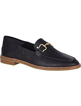 Women's Seaport Buckle Leather Loafer by Sperry
