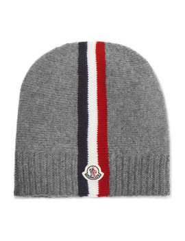 Sizes S   L Striped Wool Beanie by Moncler Kids