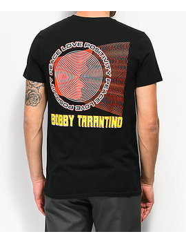 Bobby Tarantino By Logic Shout Black T Shirt by Bobby Tarantino By Logic
