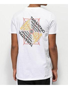 Bobby Tarantino By Logic Maze White T Shirt by Bobby Tarantino By Logic