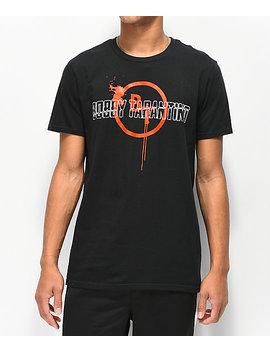 Bobby Tarantino By Logic Splat Black T Shirt by Bobby Tarantino By Logic