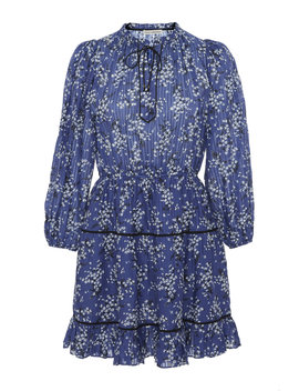 Brienne Cotton Silk Dress by Ulla Johnson