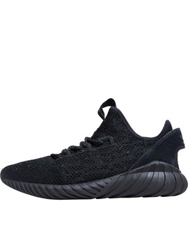 Adidas Originals Mens Tubular Doom Sock Primeknit Trainers Core Black/Core Black/Trace Olive by Adidas Originals