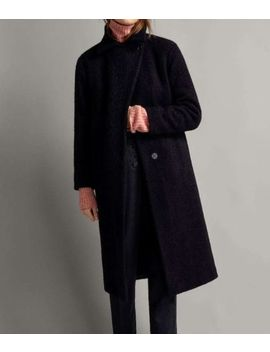 Massimo Dutti Aw18 Winter Capsule Quilted  Textured BouclÉ Wool Coat 6461/669 by Ebay Seller