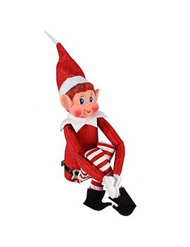 "Elves Behavin' Badly   12"" Vinyl Faced Naughty Elf Doll by E Buy Gb"