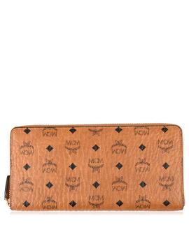 Visetos Zip Around Wallet by Mcm