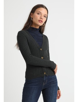 Button Thru Cardi   Gilet by New Look Petite