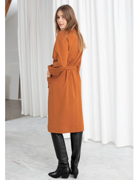 Belted Cotton Midi Dress by & Other Stories