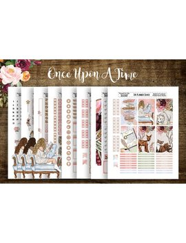 Once Upon A Time | 2018 Big Happy Planner || Printable Planner Stickers | Planner Printables | Fairy Tale | Story Line | Cut Files | Weekly by Etsy