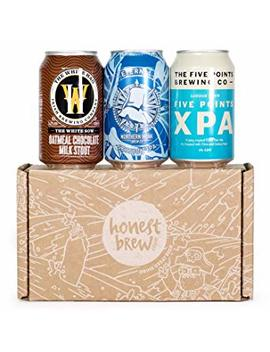 Honest Brew Secret Santa Christmas Craft Beer Howler by Honest Brew