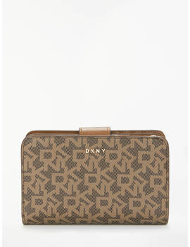 Dkny Bryant Park Logo Small Carryall Purse, Mocha by Dkny