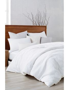 Pure Crinkle Duvet Cover by Dkny