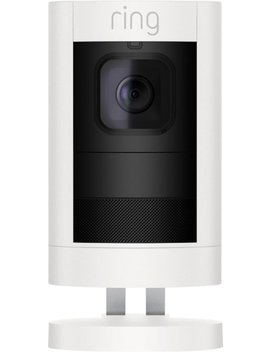 Stick Up Indoor/Outdoor Wi Fi Wireless Network Surveillance Camera   White by Ring