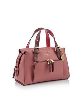 J By Jasper Conran   Dark Pink Faux Leather 'holland Park' Grab Bag by J By Jasper Conran