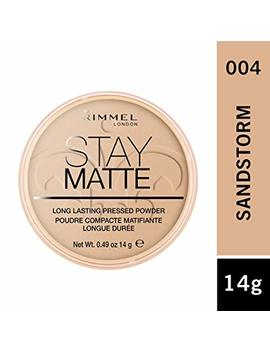 Rimmel London Stay Matte Pressed Powder, 5 Silky Beige, 14 G by Rimmel