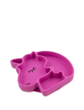 Unicorn Silicone Grip Dish by Bumkins
