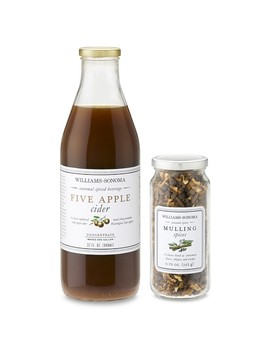 Williams Sonoma Mulling Spices & Five Apple Cider Concentrate by Williams   Sonoma