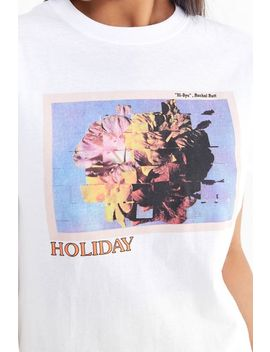 Holiday The Label Postcard Project Tee by Holiday The Label