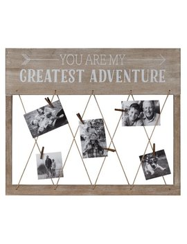 """Better Homes & Gardens 22"""" X 27"""" You Are My Greatest Adventure Collage by Better Homes & Gardens"""