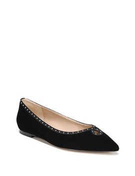 Rini Studded Pointed Toe Flat by Sam Edelman