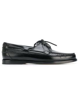 Deck Lace Up Loafers by Saint Laurent