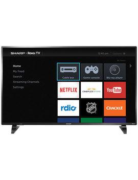 """Sharp 50"""" 1080p Hd Led Roku Os Smart Tv (Lc 50 Lb601 C) by Sharp"""