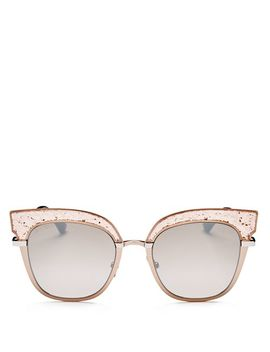 Women's Rosys Mirrored Square Sunglasses, 51mm by Jimmy Choo