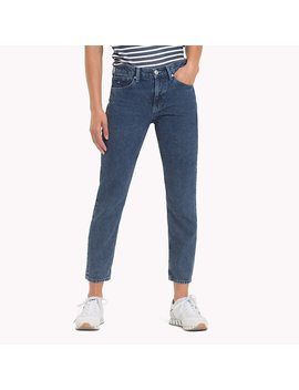Izzy High Rise Cropped Jeans by Tommy Hilfiger