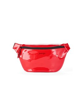 Kendall + Kylie For Walmart Red Faux Leather Large Fanny Pack by Kendall + Kylie For Walmart