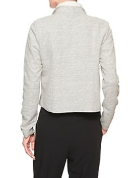 Boucle Moto Stretch Jacket by Banana Republic Factory