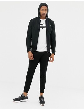 Lacoste Sport Slim Fit Logo Sweat Joggers In Black by Lacoste